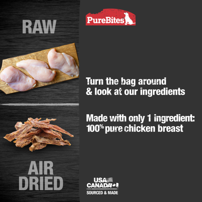 Gently Air Dried Chicken Jerky