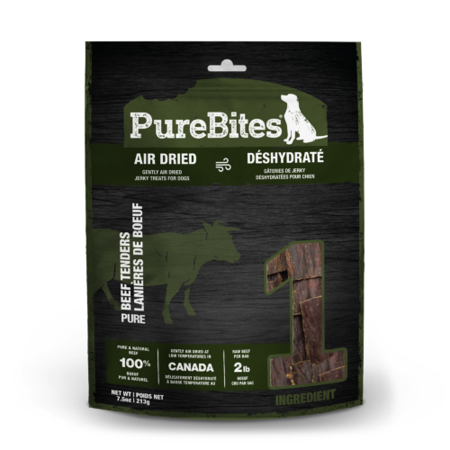 Front Shot Bag Air Dried Beef Jerky For Dogs