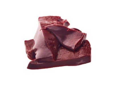 raw beef liver