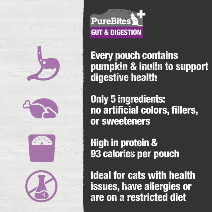 Squeezables Gut & Digestion For Cats